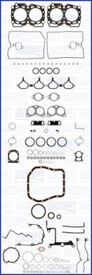 Joint d'etancheite moteur AJUSA 50165300 (X1)