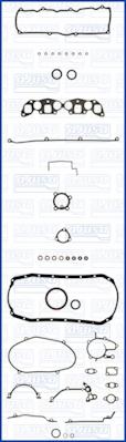 Joint d'etancheite moteur AJUSA 51006100 (X1)