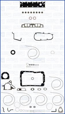 Vilebrequin à manivelle moteur 15049000 Ajusa Joint d/'étanchéité d/'arbre