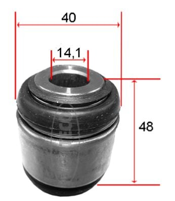 Silentbloc de suspension CORTECO 49367512 (X1)