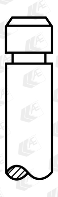 Soupape d'échappement AE V91131 (Jeu de 4)