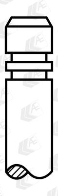Soupape d'échappement AE V91261 (Jeu de 4)