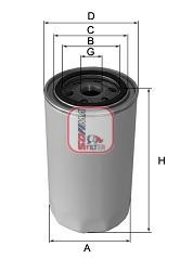 Filtre a huile SOFIMA S 2900 R (X1)