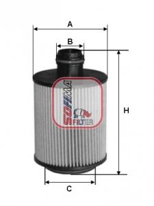 Filtre a huile SOFIMA S 5112 PE (X1)