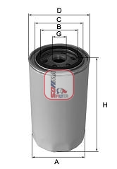 Filtre a huile SOFIMA S 5601 R (X1)