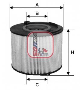 Filtre a carburant SOFIMA S 6015 NE (X1)