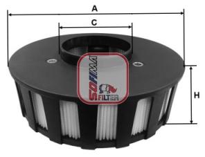 Autres filtres SOFIMA S 7686 A (X1)