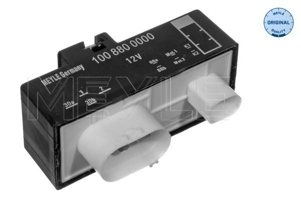 commande, ventilateur electrique (refroidissement) MEYLE 100 880 0000 (X1)
