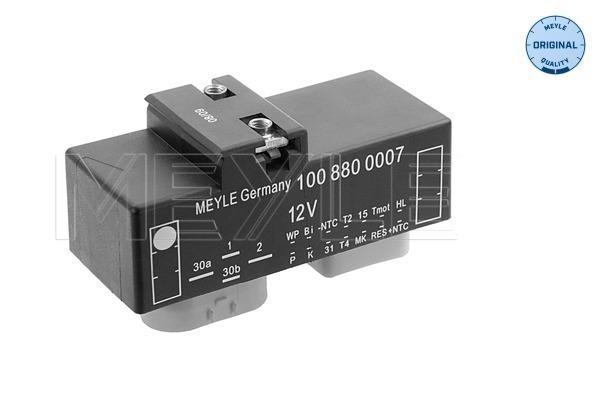 commande, ventilateur electrique (refroidissement) MEYLE 100 880 0007 (X1)
