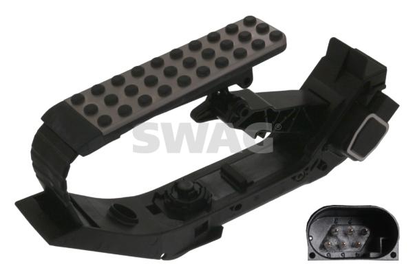 Pedale d'accelerateur SWAG 10 10 0712 (X1)