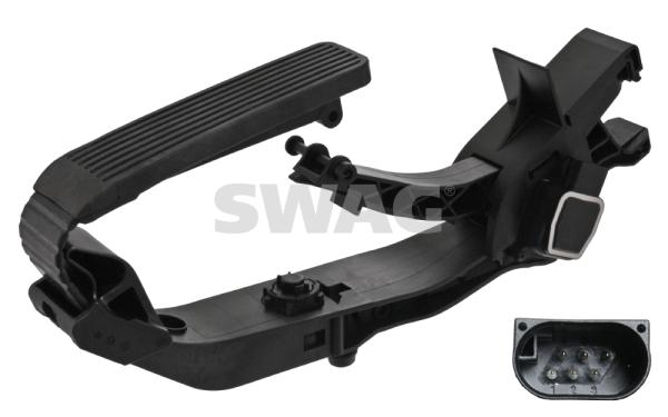 Pedale d'accelerateur SWAG 10 10 0716 (X1)