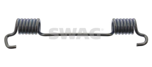Ressort de machoire de frein SWAG 10 90 2104 (X1)