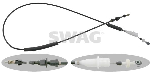 Cable d'accelerateur SWAG 10 92 1385 (X1)