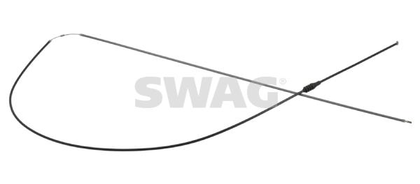 Cable d'ouverture capot SWAG 10 92 3978 (X1)