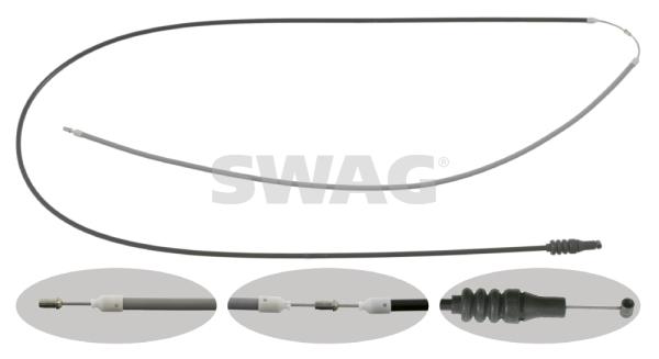 Cable d'ouverture capot SWAG 10 92 6682 (X1)