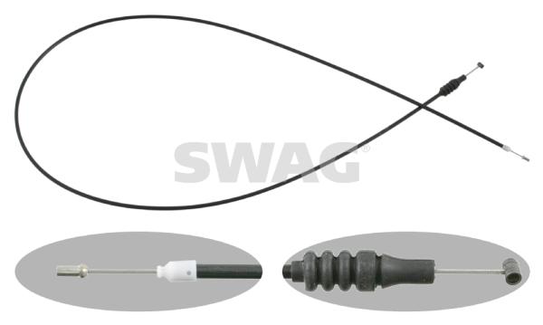 Cable d'ouverture capot SWAG 10 92 6683 (X1)