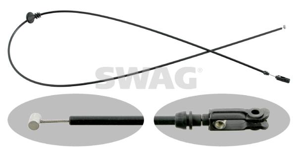 Cable d'ouverture capot SWAG 10 99 0012 (X1)