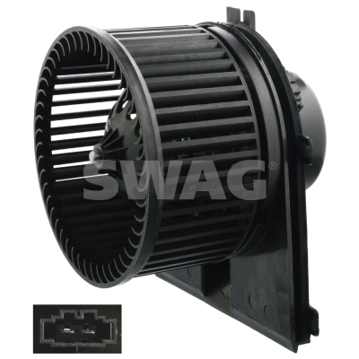 Moteur de ventilateur de chauffage SWAG 30 10 4638 (X1)