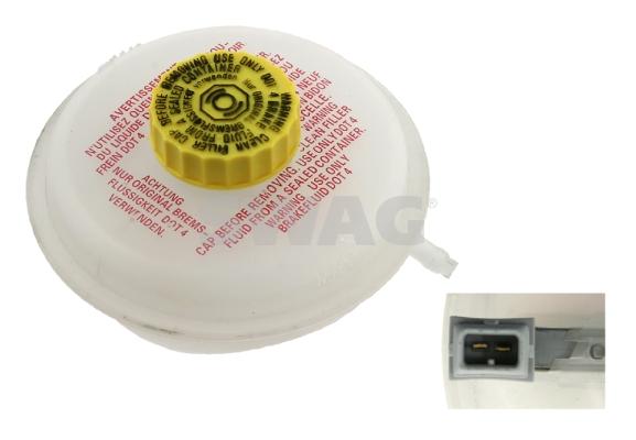 Vase d'expansion du liquide de frein SWAG 30 92 6658 (X1)