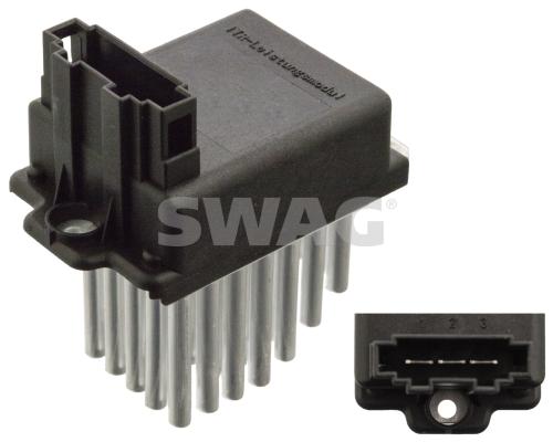Boitier de gestion climatisation SWAG 30 93 0601 (X1)