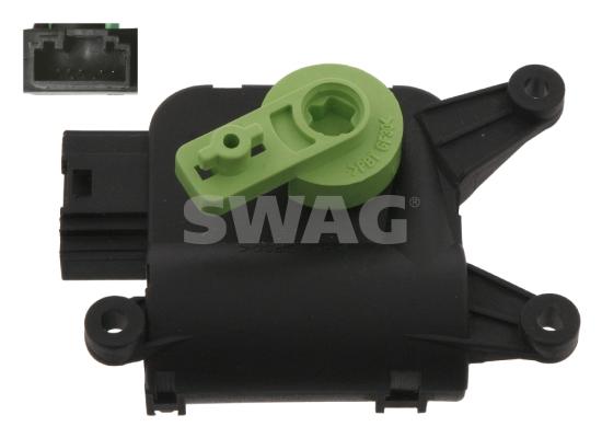 Actionneur de climatisation SWAG 30 93 4155 (X1)