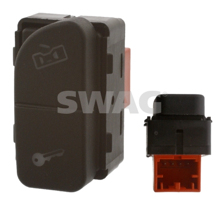 Bouton de verrouillage de porte SWAG 30 93 7784 (X1)