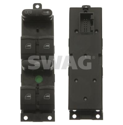 Interrupteur, leve-vitre SWAG 30 93 8639 (X1)