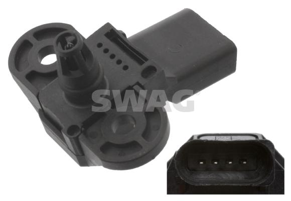 Capteur, pression de suralimentation SWAG 30 94 5079 (X1)