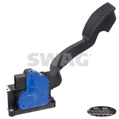 Pedale d'accelerateur SWAG 40 10 4356 (X1)