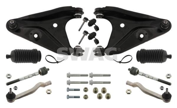 Kit de reparation bras de suspension SWAG 60 93 4333 (X1)