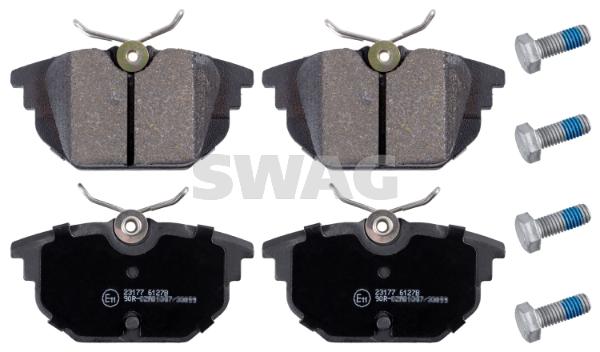 Plaquettes de frein arriere SWAG 70 91 6172 (X1)