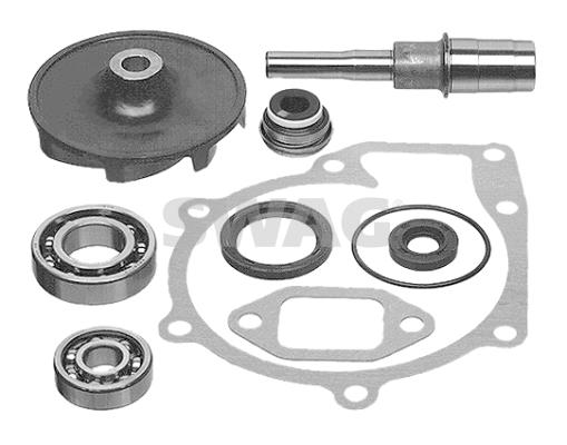 Kit de réparation, pompe à eau SWAG 99 90 9811 (X1)
