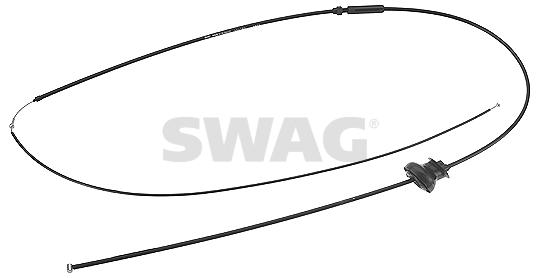 Cable d'ouverture capot SWAG 99 91 8731 (X1)