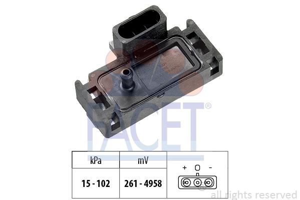 Capteur de pression FACET 10.3001 (X1)