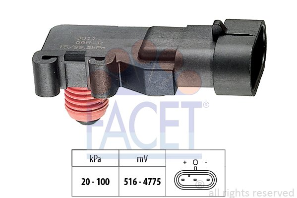 Capteur de pression FACET 10.3011 (X1)