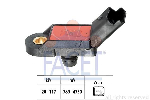 Capteur de pression FACET 10.3056 (X1)