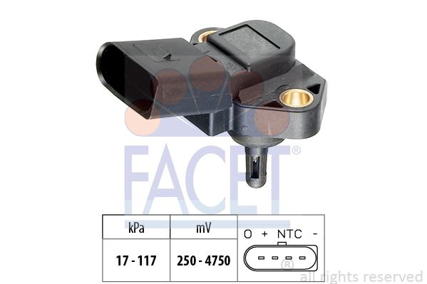Capteur de pression FACET 10.3071 (X1)