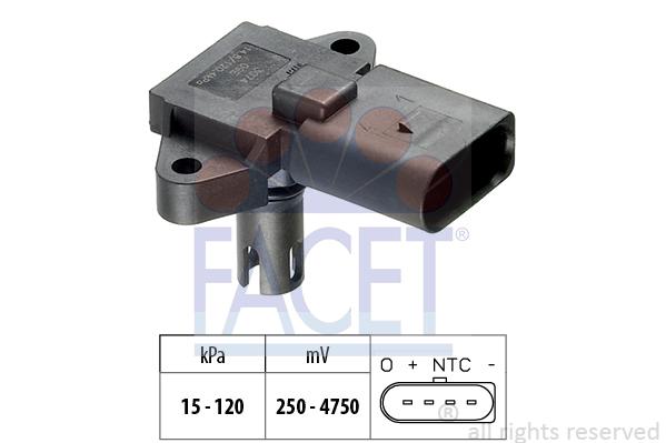 Capteur de pression FACET 10.3074 (X1)