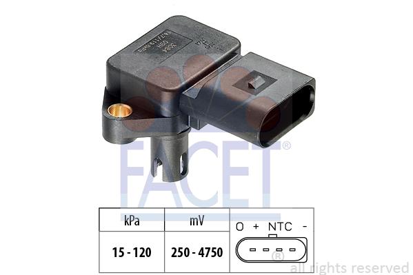 Capteur de pression FACET 10.3084 (X1)