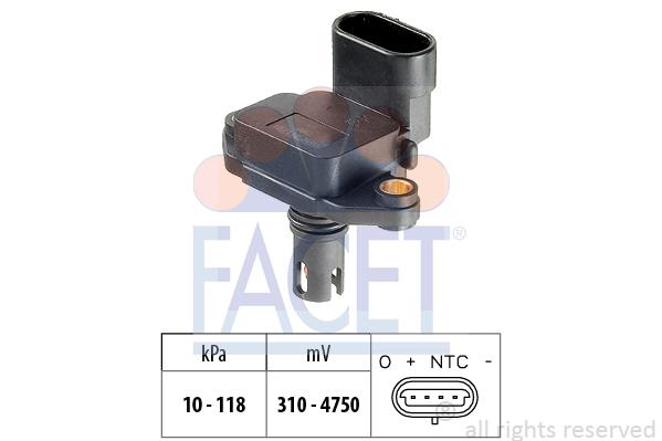 Capteur de pression FACET 10.3087 (X1)