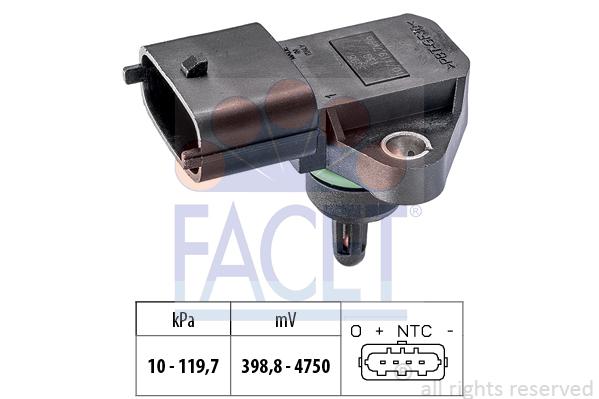 Capteur de pression FACET 10.3098 (X1)