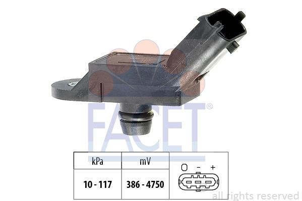 Capteur de pression FACET 10.3133 (X1)