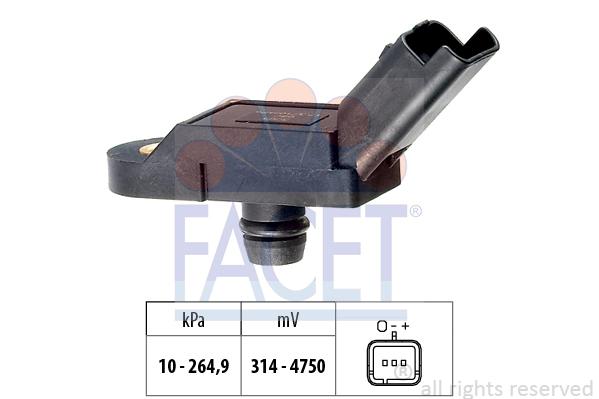 Capteur de pression FACET 10.3164 (X1)