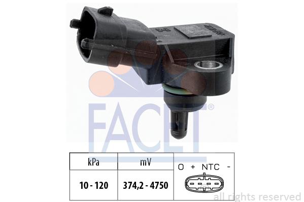 Capteur de pression FACET 10.3180 (X1)