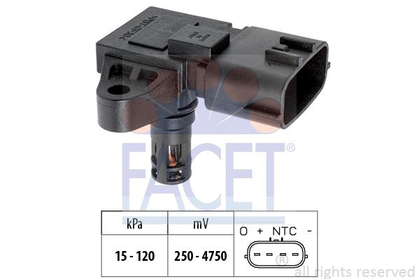 Capteur de pression FACET 10.3227 (X1)