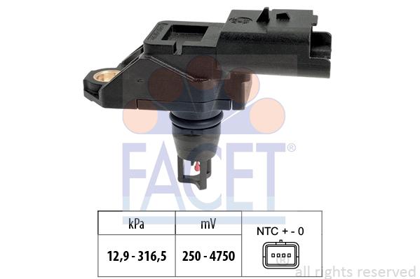 Capteur de pression FACET 10.3261 (X1)