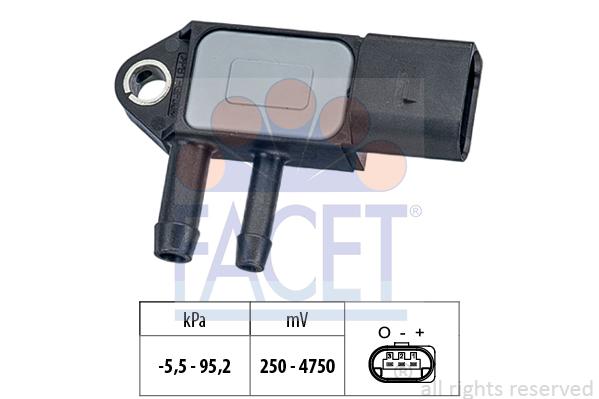 Capteur de pression FACET 10.3263 (X1)