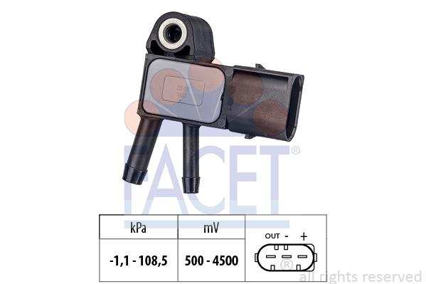 Capteur de pression FACET 10.3269 (X1)