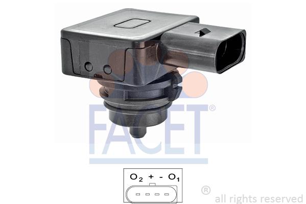 Capteur de pression, servo-frein FACET 10.3275 (X1)