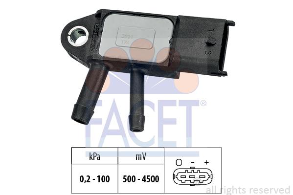 Capteur de pression FACET 10.3291 (X1)